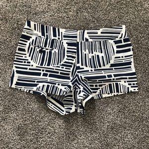 Geometric print Trina Turk fashion shorts